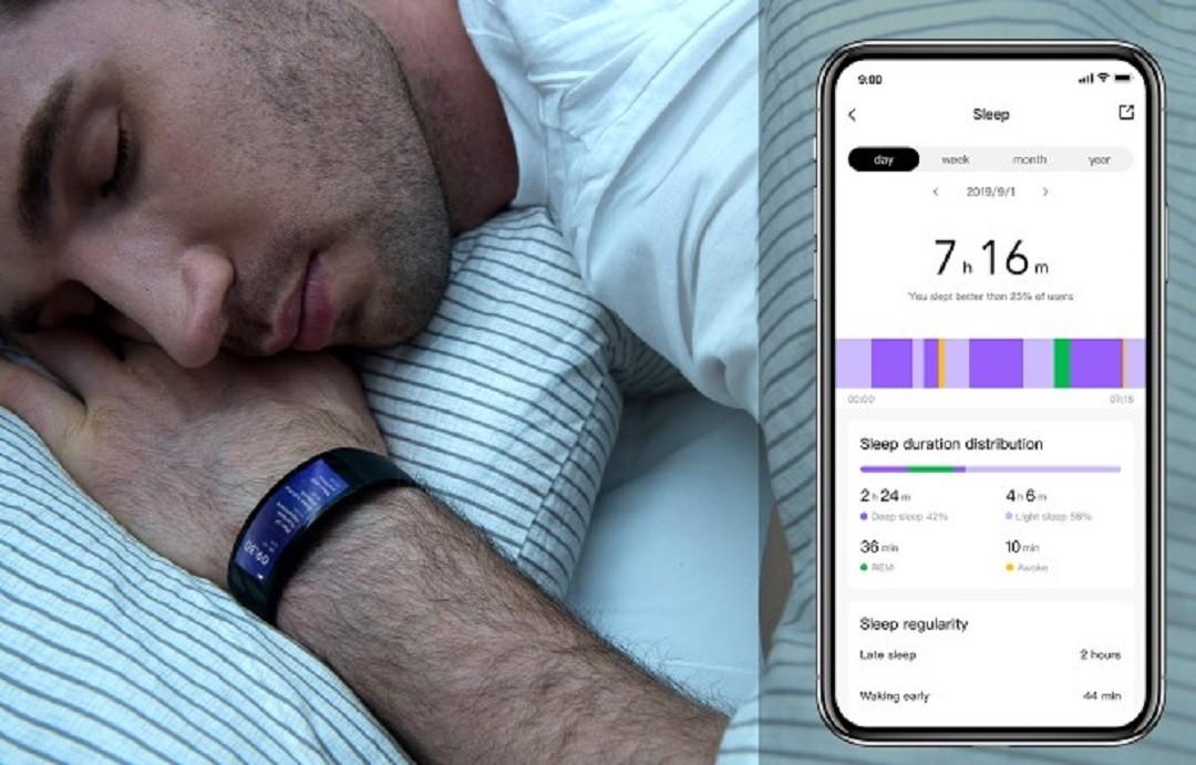 Amazfit X suivi du sommeil