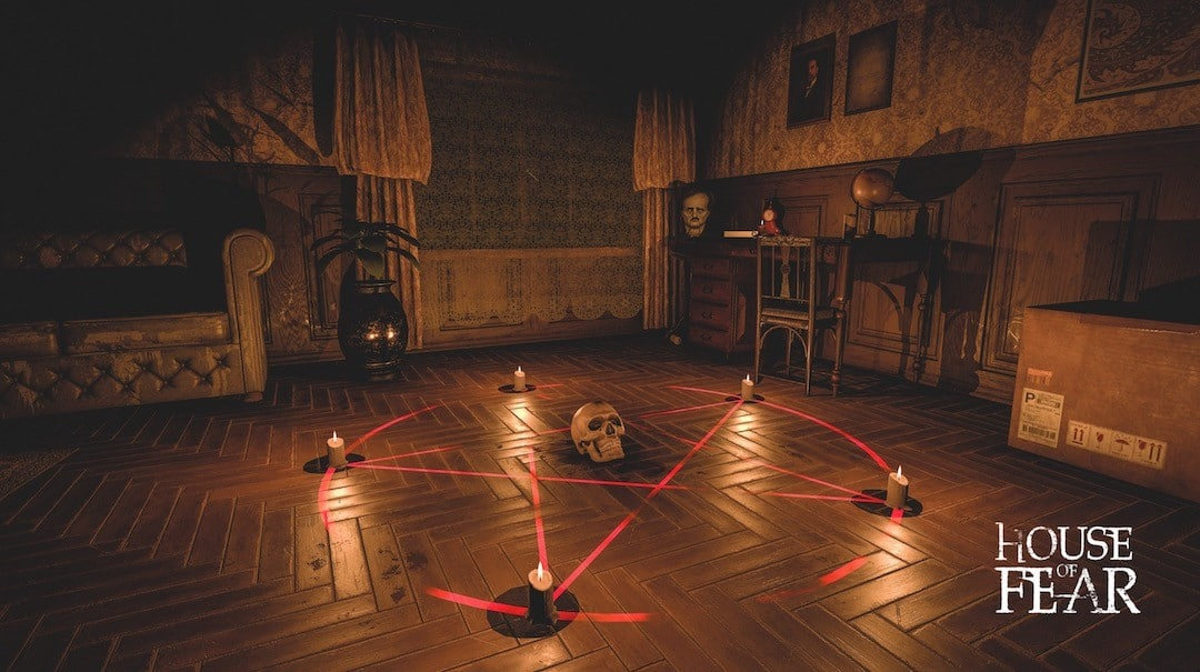 House of Fear VR arvilab arvi games