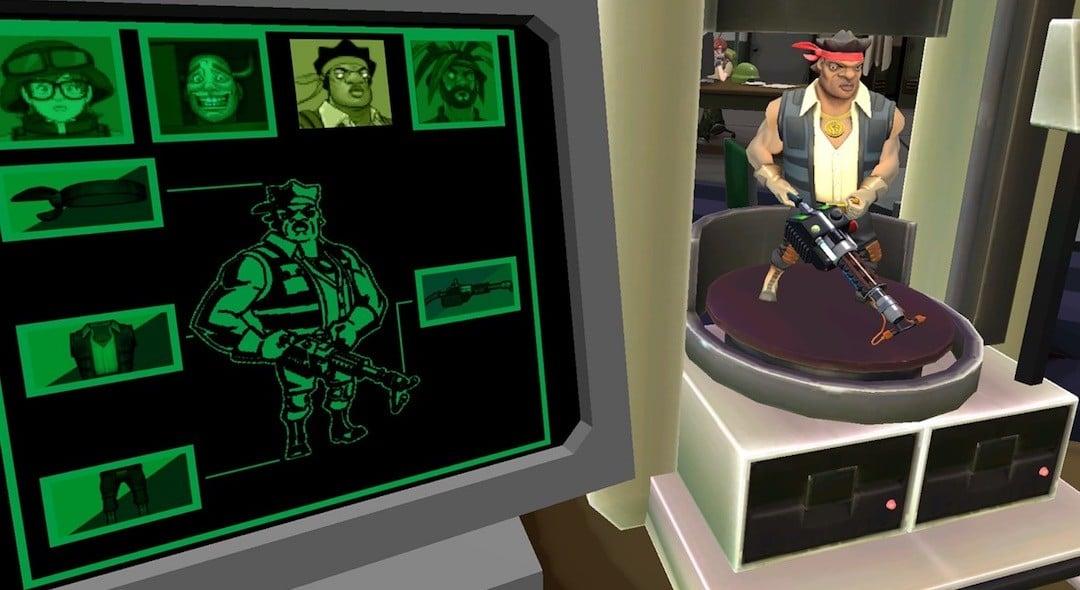 B Team VR avis jeu arcade Oculus