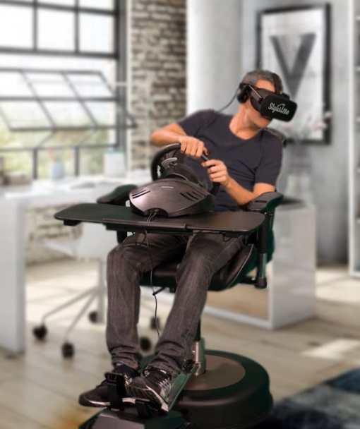 fauteuil motorisé jeu réalité virtuelle accessoire oculus quest