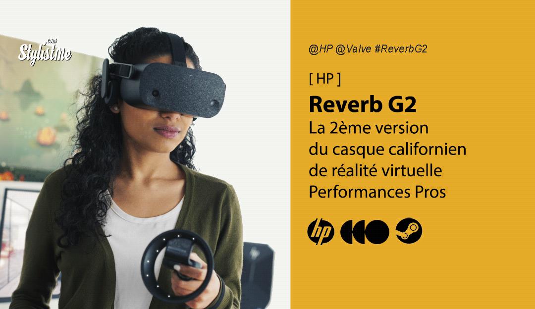 HP Reverb G2 test avis prix date caractéristiques