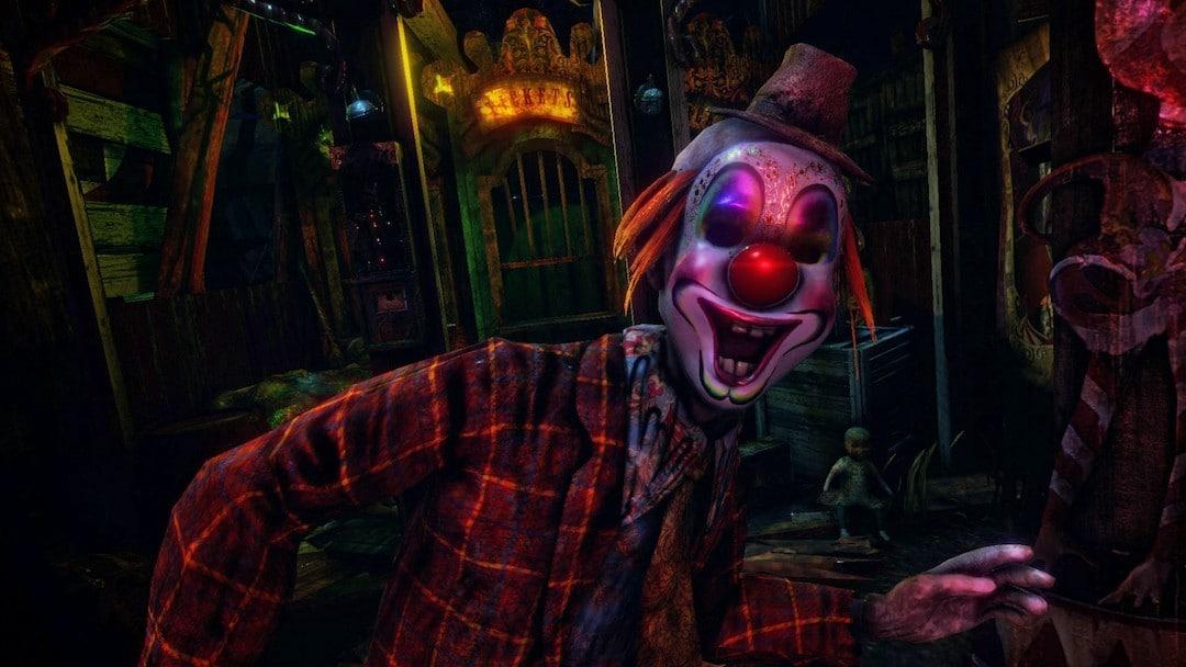 Lost Circus VR le clown jeu réalité virtuelle date sortie