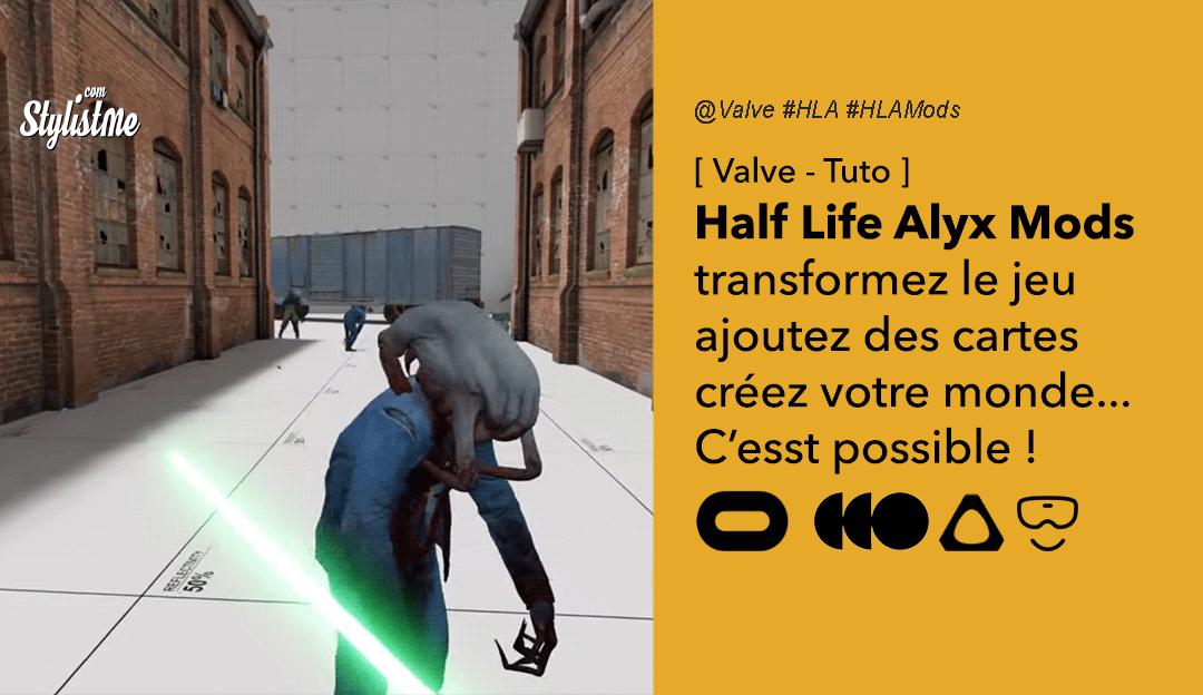 Comment ajouter des mods Half-Life Alyx cartes objets