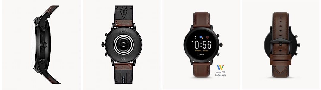 Fossil The Carlyle HR design finition qualité