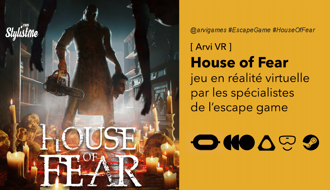 House of Fear VR un escape game en huis clos mode grosse angoisse