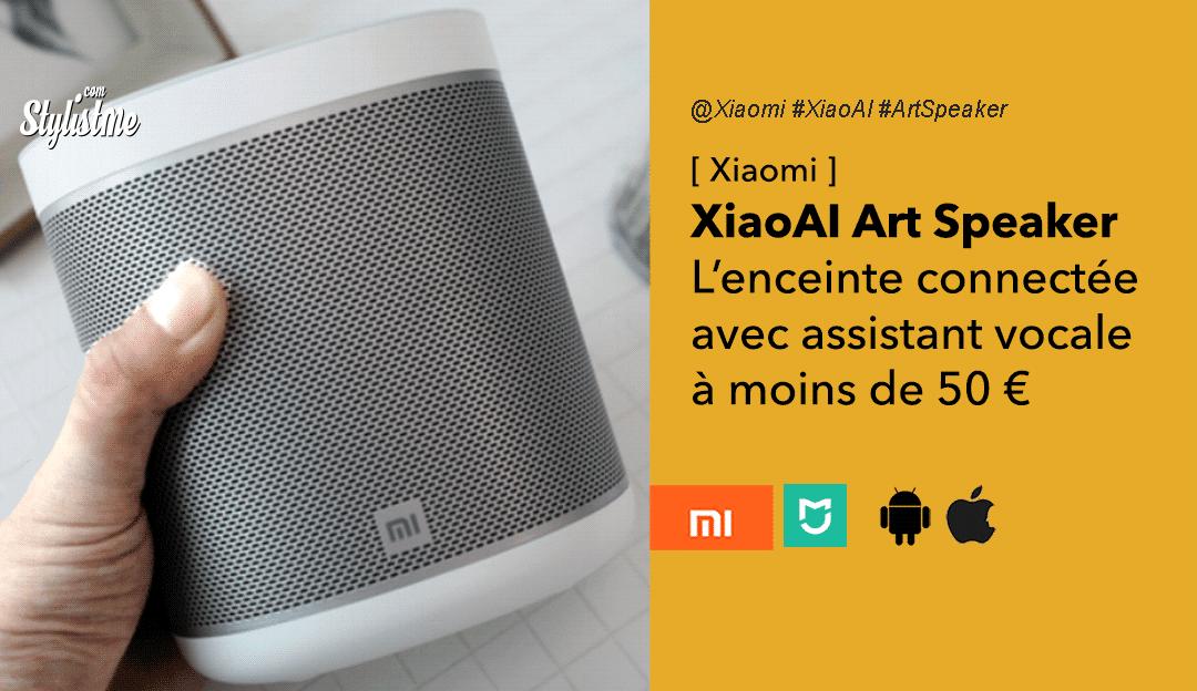 Xiaomi XiaoAI Art Speaker enceinte connectée assistant