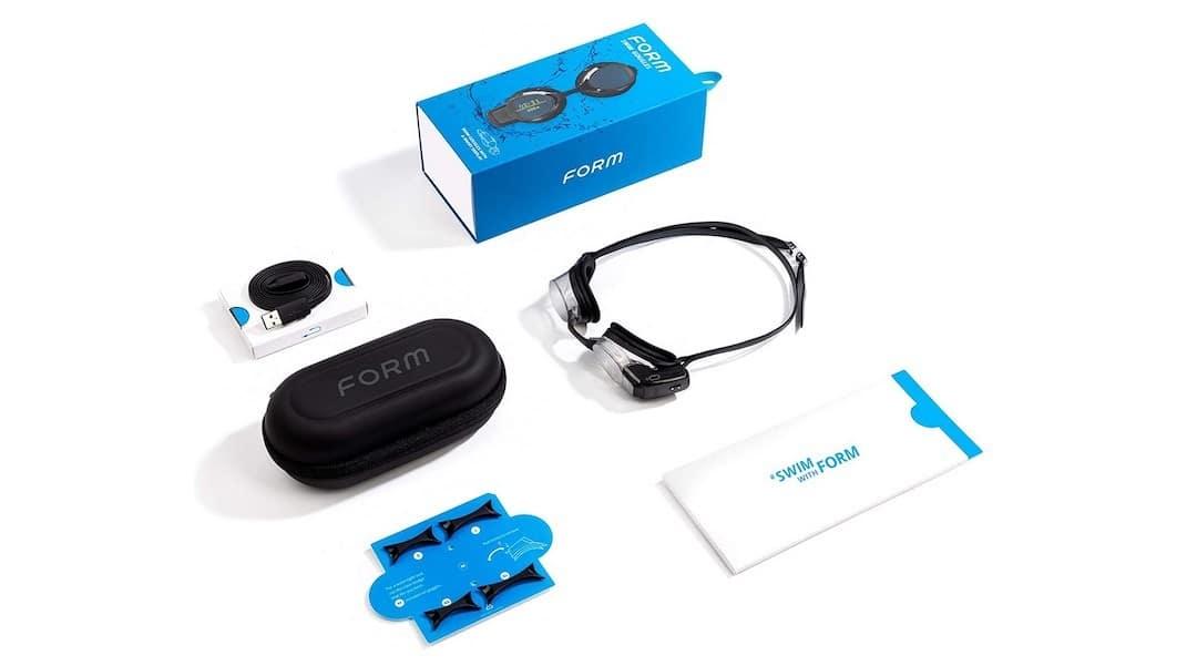 lunettes natation connectées Form smart swim goggles