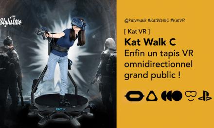Kat Walk C tapis omnidirectionnel réalité virtuel pour tous les casques VR