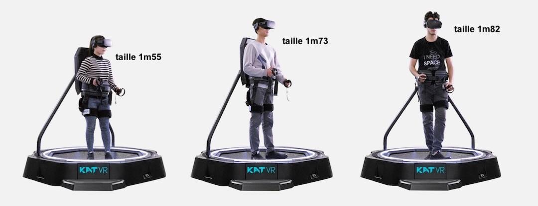 Kat walk mini tapis roulant casque VR