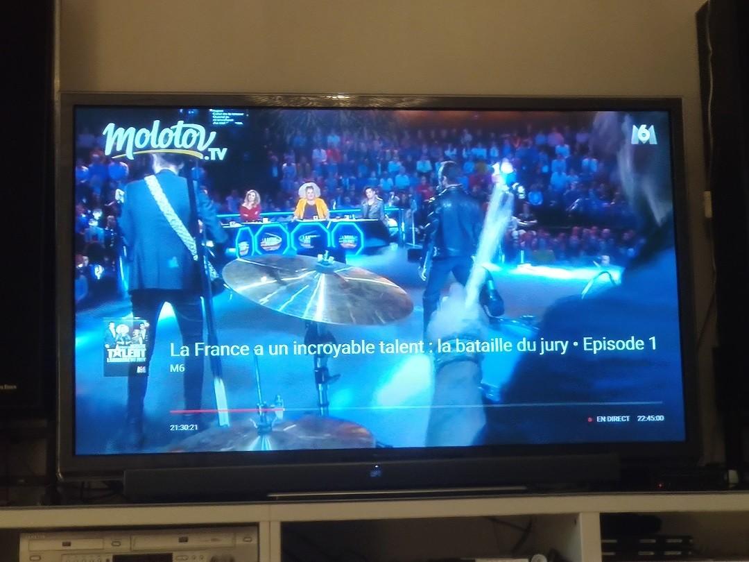 Molotov TV liste commandes vocales Google assistant