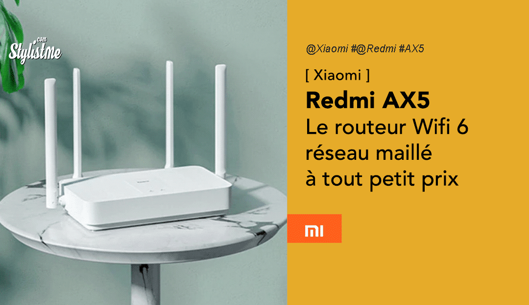 Redmi AX5 prix test avis routeur wifi 6 mesh Xiaomi