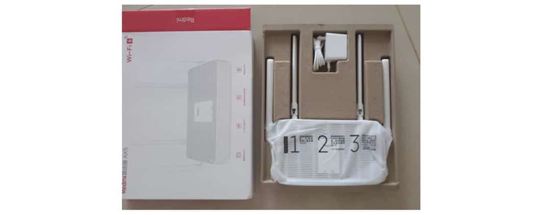 Unboxing Redmi AX5 routeur mesh Wifi 6 Xiaomi