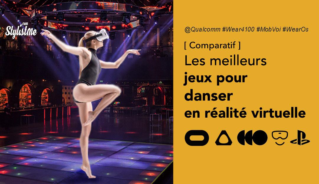 Danser en réalité virtuelle meilleurs jeux VR