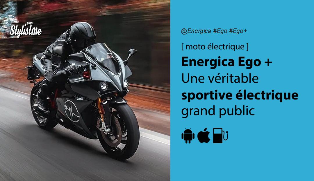 Energica Ego test avis prix moto électrique sportive