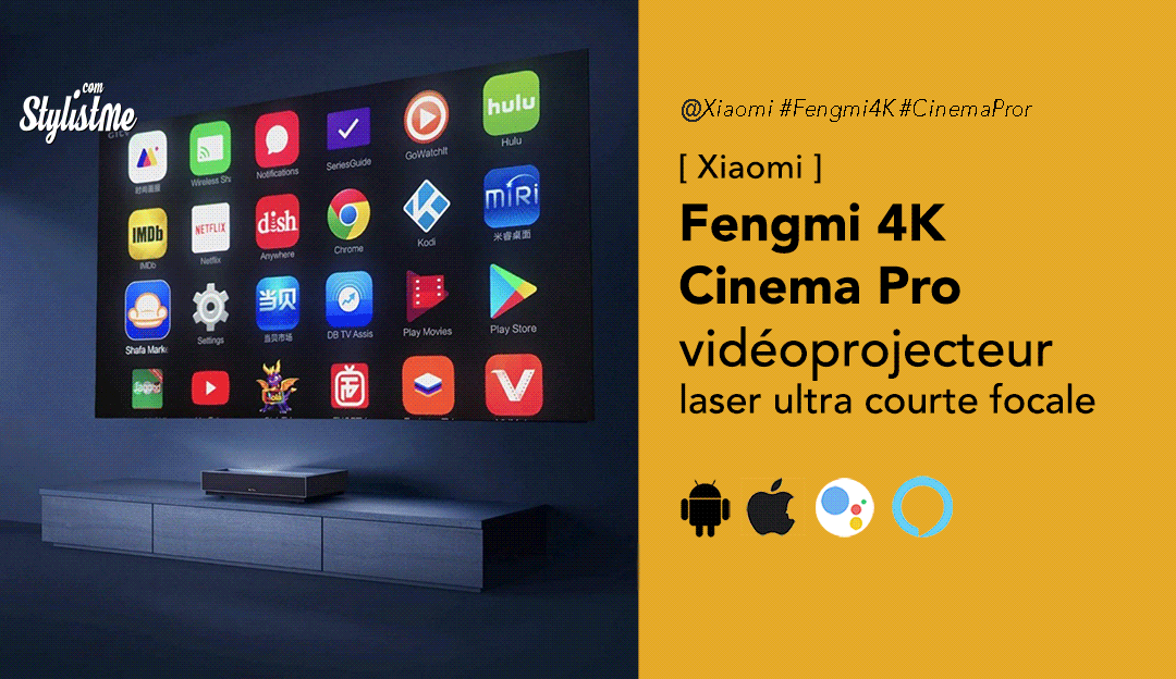 Fengmi 4K Cinema Pro Avis prix test Xiaomi
