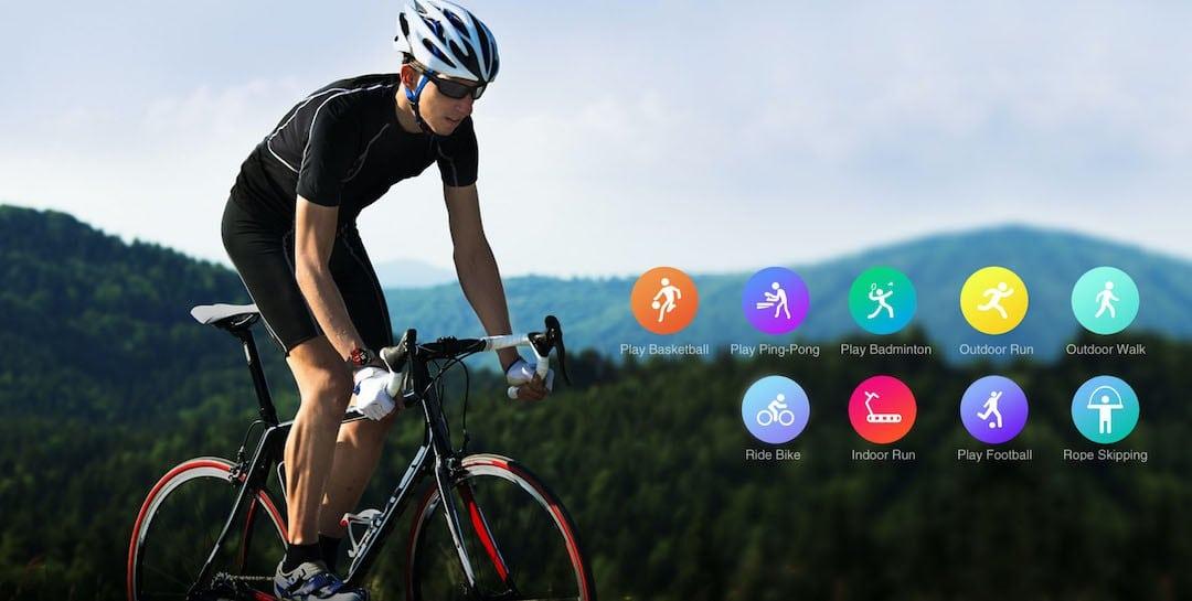 Kopset Prime suivi activité sports GPS