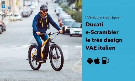 Ducati e-Scrambler le vélo électrique urbain venu d'Italie