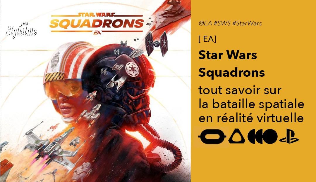 Star Wars Squadrons avis prix test VR