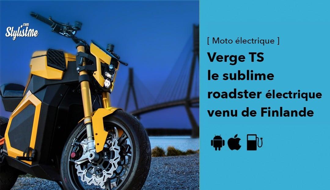 Verge TS avis prix test roadster électrique