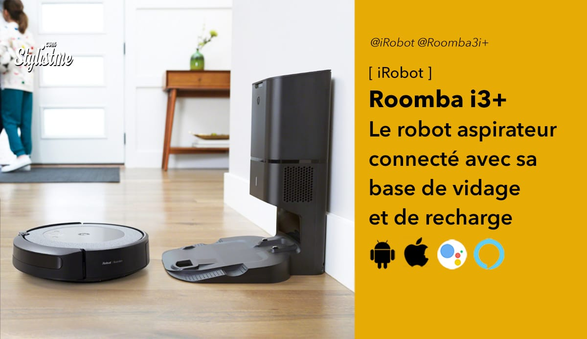 iRobot Roomba i3 plus