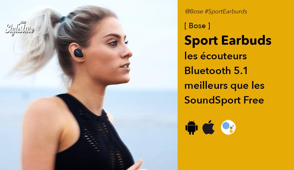 Bose Sport Earbuds avis test