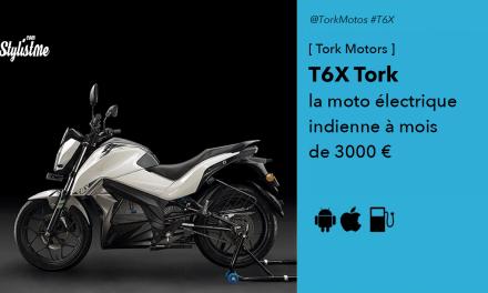T6X Tork la version indienne de la moto électrique à 3000 euros