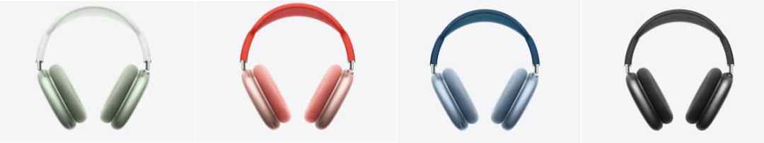 AirPods Max couleurs prix