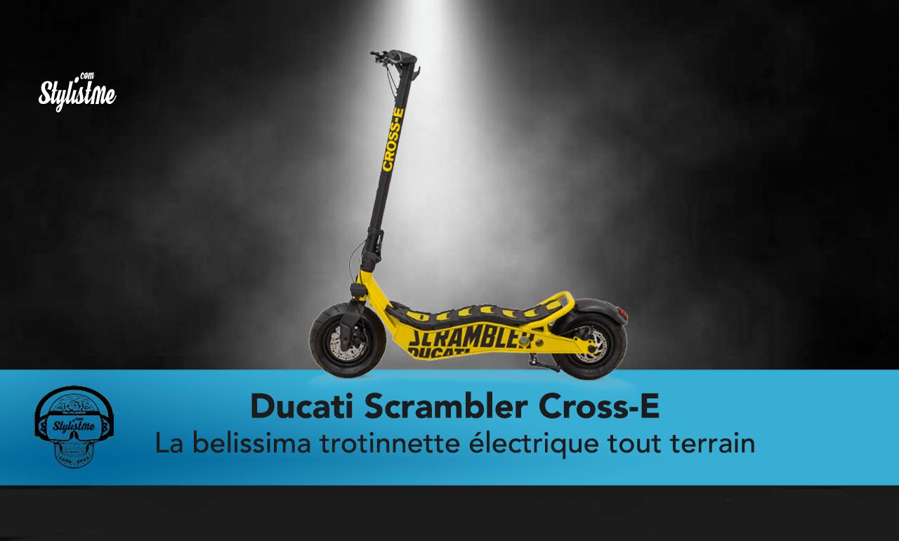 Ducati Scrambler Cross-E test avis