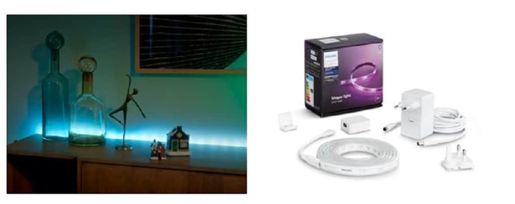 Philips Hue Lightstrip éclairage Noel