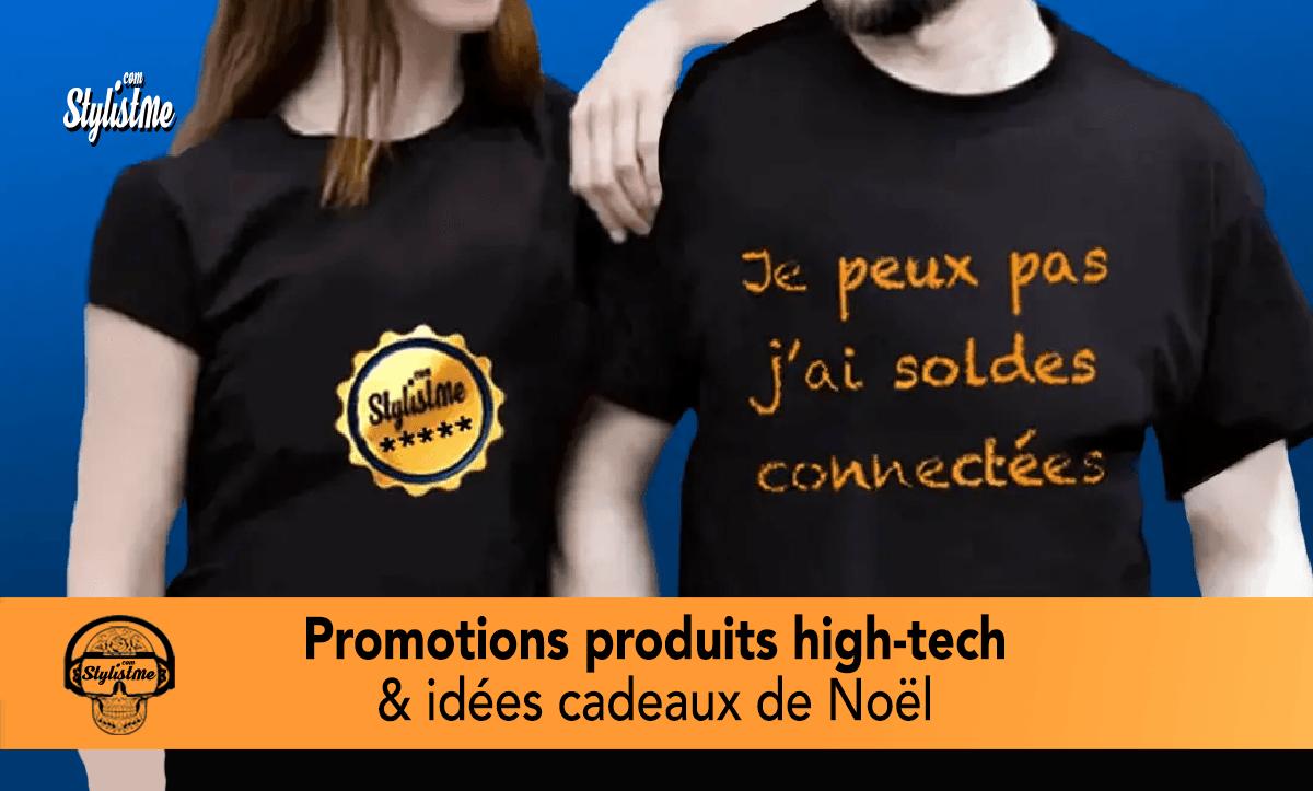 Promotions high tech décembre idées cadeaux Noël