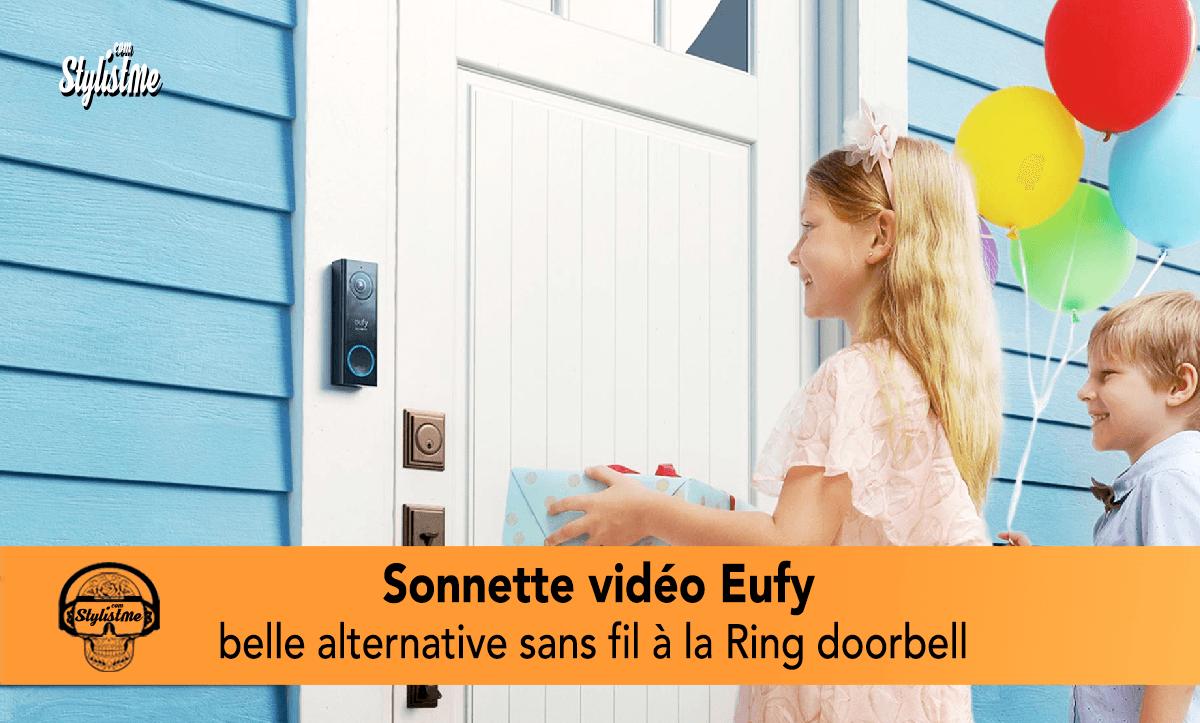 Sonnette vidéo Eufy avis test