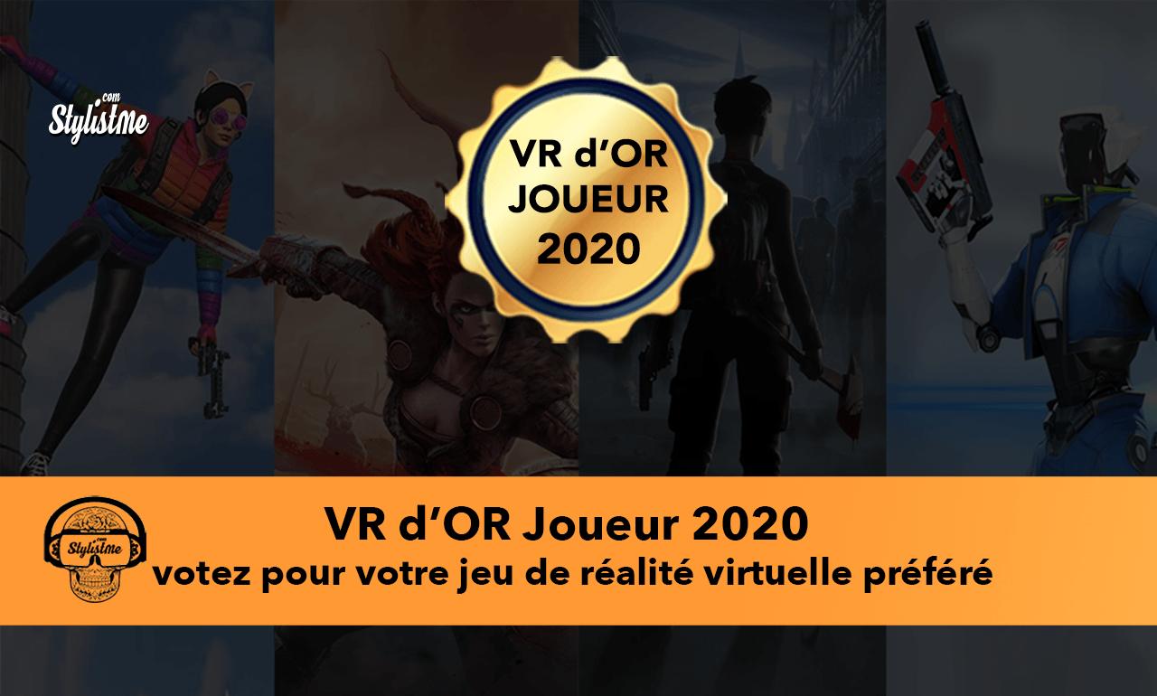 VR d'OR 2020 Joueurs : élection des meilleurs jeux VR 2020 Oculus, PVCR et PSVR