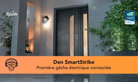 Den SmartStrike la gâche électrique connectée pour porte [CES 2021]
