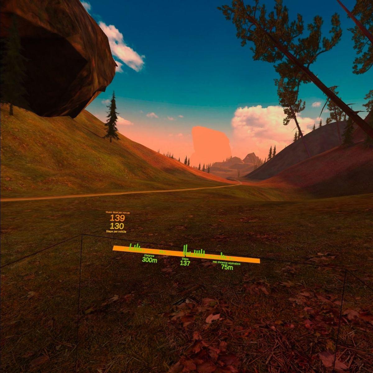 Happy Run courir en réalité virtuelle