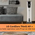 LG CordZero ThinQ A9 Kompressor + le nouveau balai aspirateur [CES 2021]