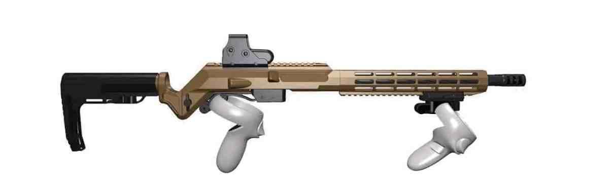 MKIII VR Rifle Gunstock Oculus Quest 2