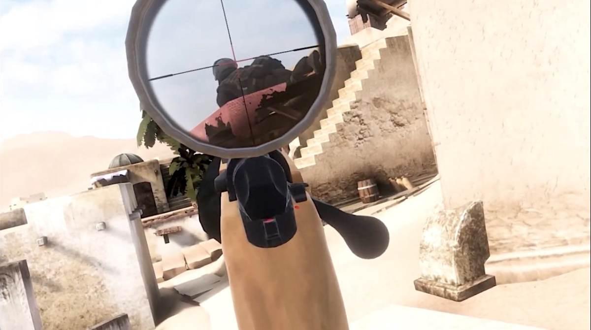 ALVO VR armes gun