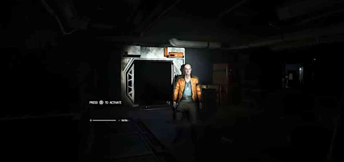 Alien Isolation VR gameplay