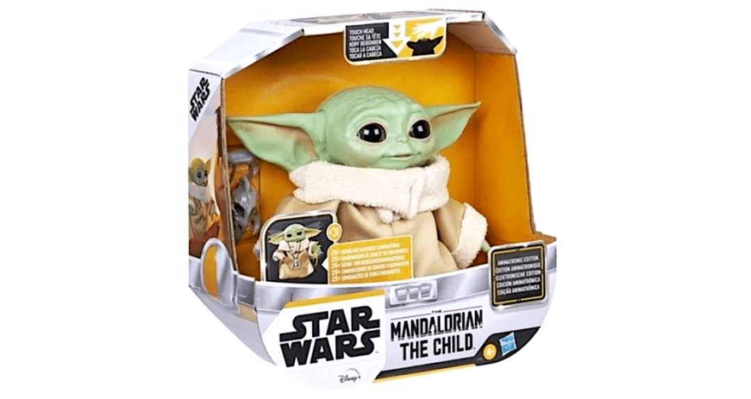 Baby Yoda animatronique prix