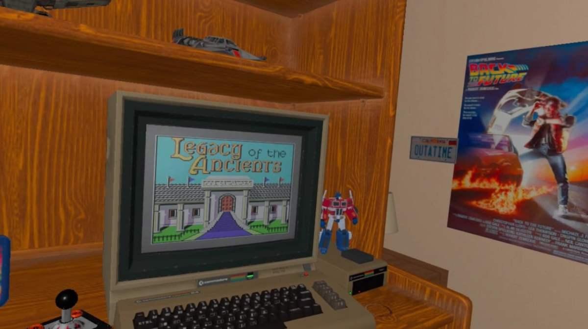 Emulateur Commodore 64 Oculus Quest