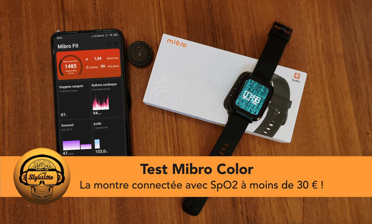 Mibro Color test avis