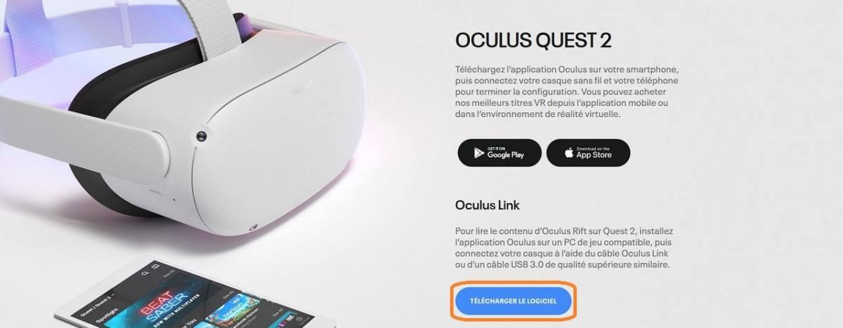 Télécharger App Oculus PC