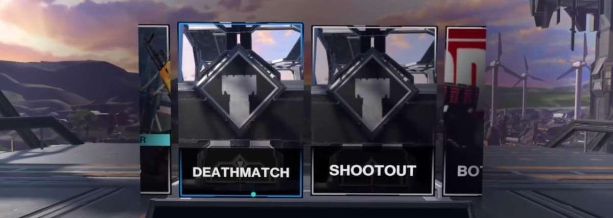 deathmatch shootout mode Pop One S2