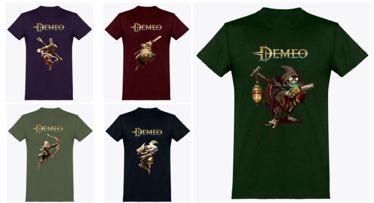 tee shirt Demeo