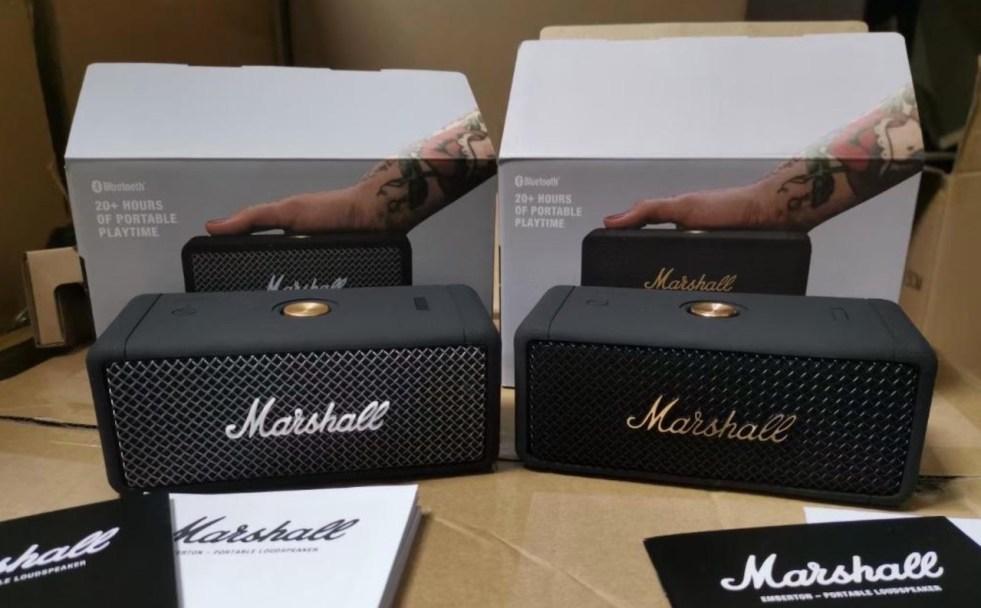 Marshall Emberton unboxing