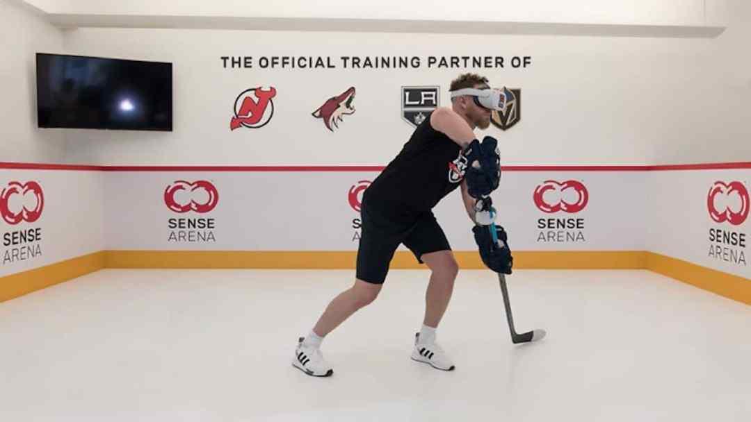 Sense Arena entrainement hockey Oculus Quest