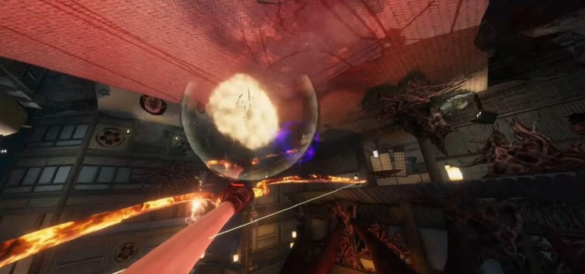 Hellsweeper VR combat test