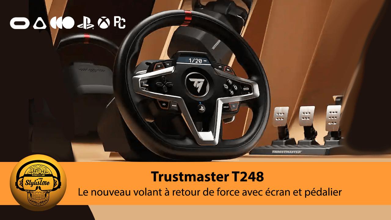 Thrustmaster T248 test avis