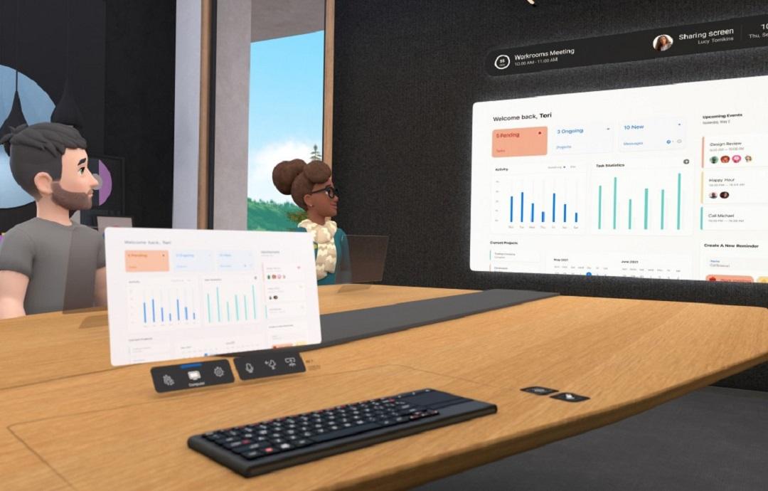 Workrooms partage de document