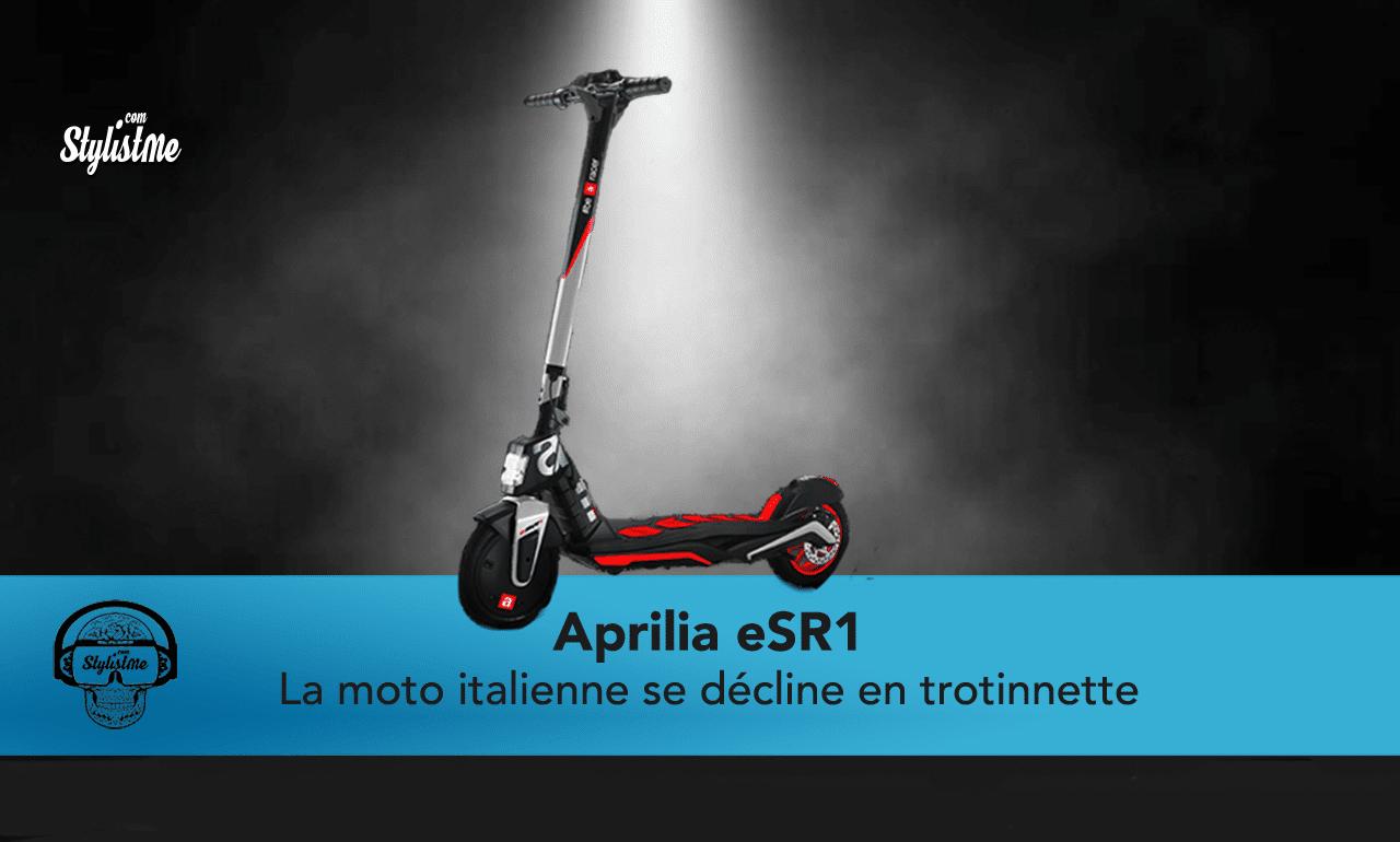 Aprilia eSR1 avis test